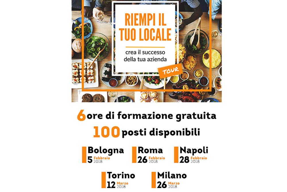 Riempi il tuo locale – evento per ristoratori 5 Febbraio Bologna