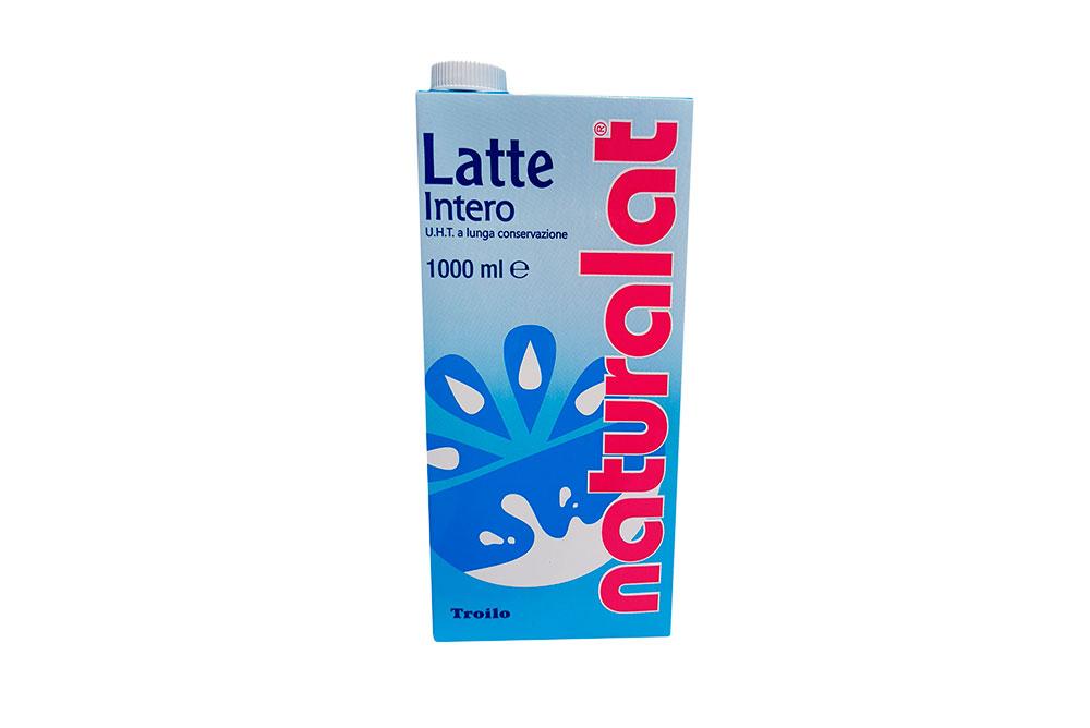 Latte Naturalat Intero Lt. 1 x 12 pz